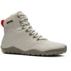 Vivobarefoot Tracker FG Leather Shoes Women cement cream